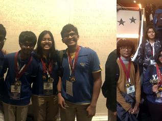 Billabong High International School wins numerous awards at World Scholar's Cup Tournament of Ch
