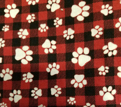 dog red and black plaid white paws.jpg