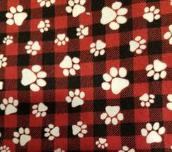 dog red and black plaid white paws.jpg