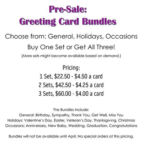 Bundle of Greeting Cards