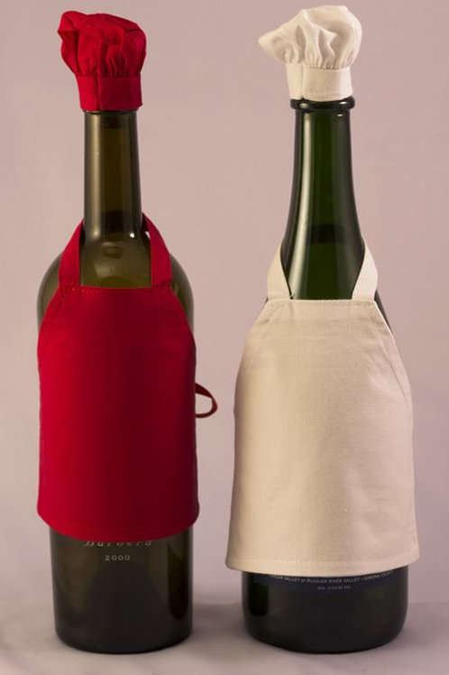 Wine Bottle Aprons