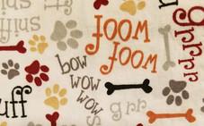 dog bow wow writing.jpg