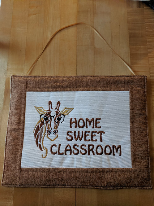 Embroidered Wall Hanging