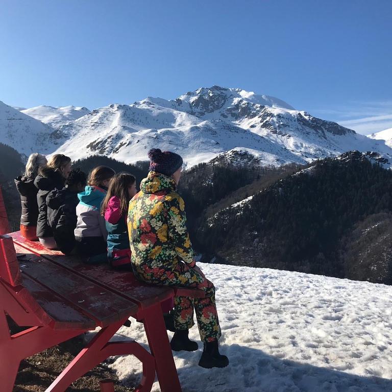 Familieyoga & Wintersport Italië