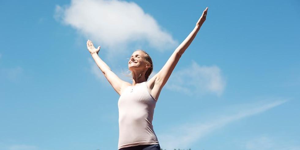 Yoga met Neel bij de Meditatietuin
