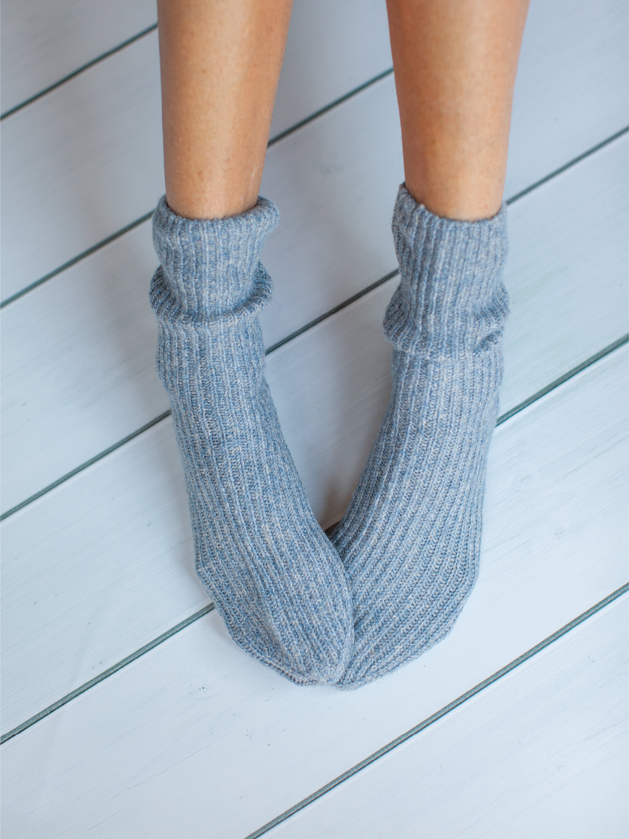 Soft bed socks  which comes in a £80  Albi & Mac gift box