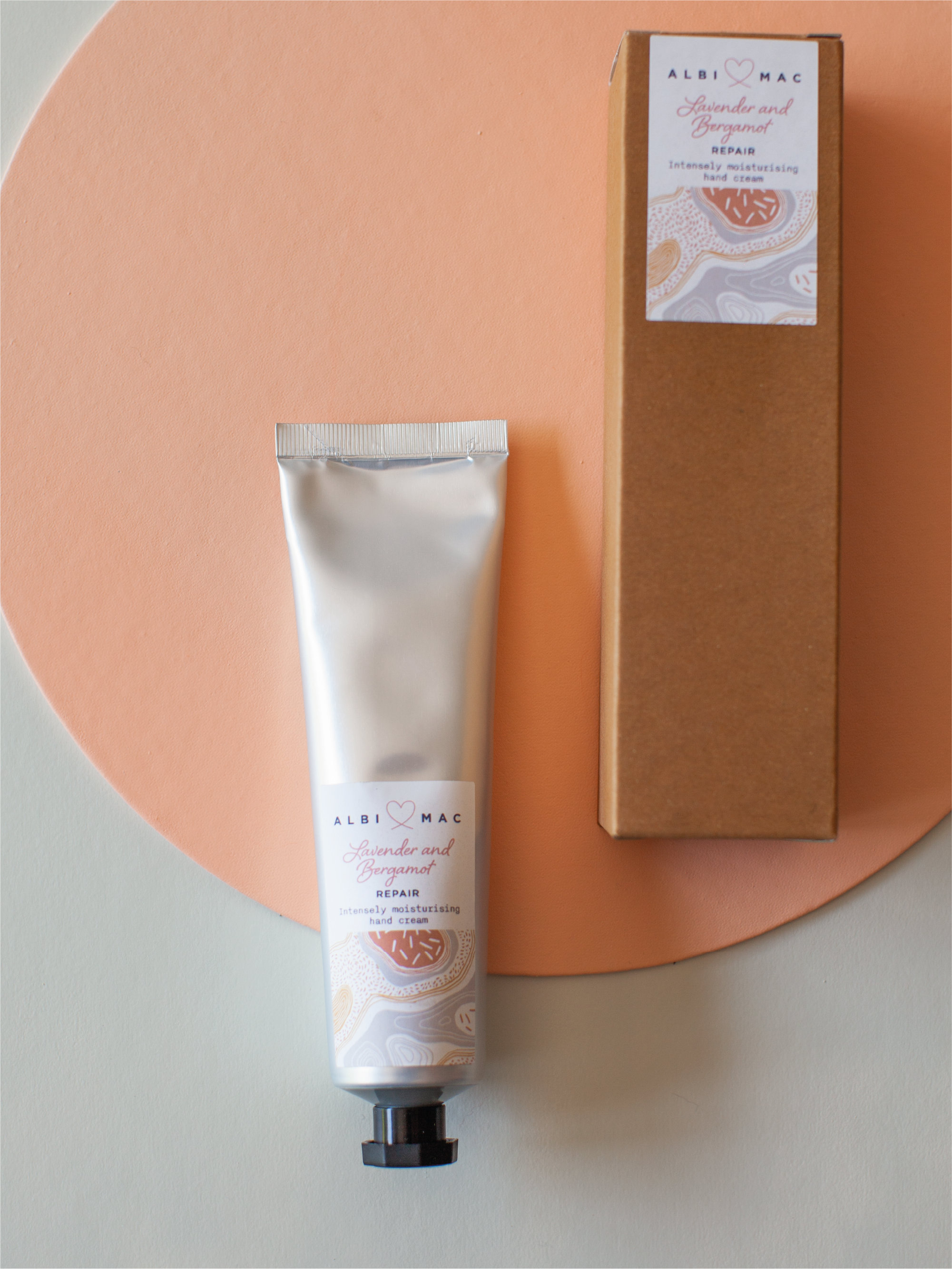 Albi and Mac hand cream that comes in a £50 gift box