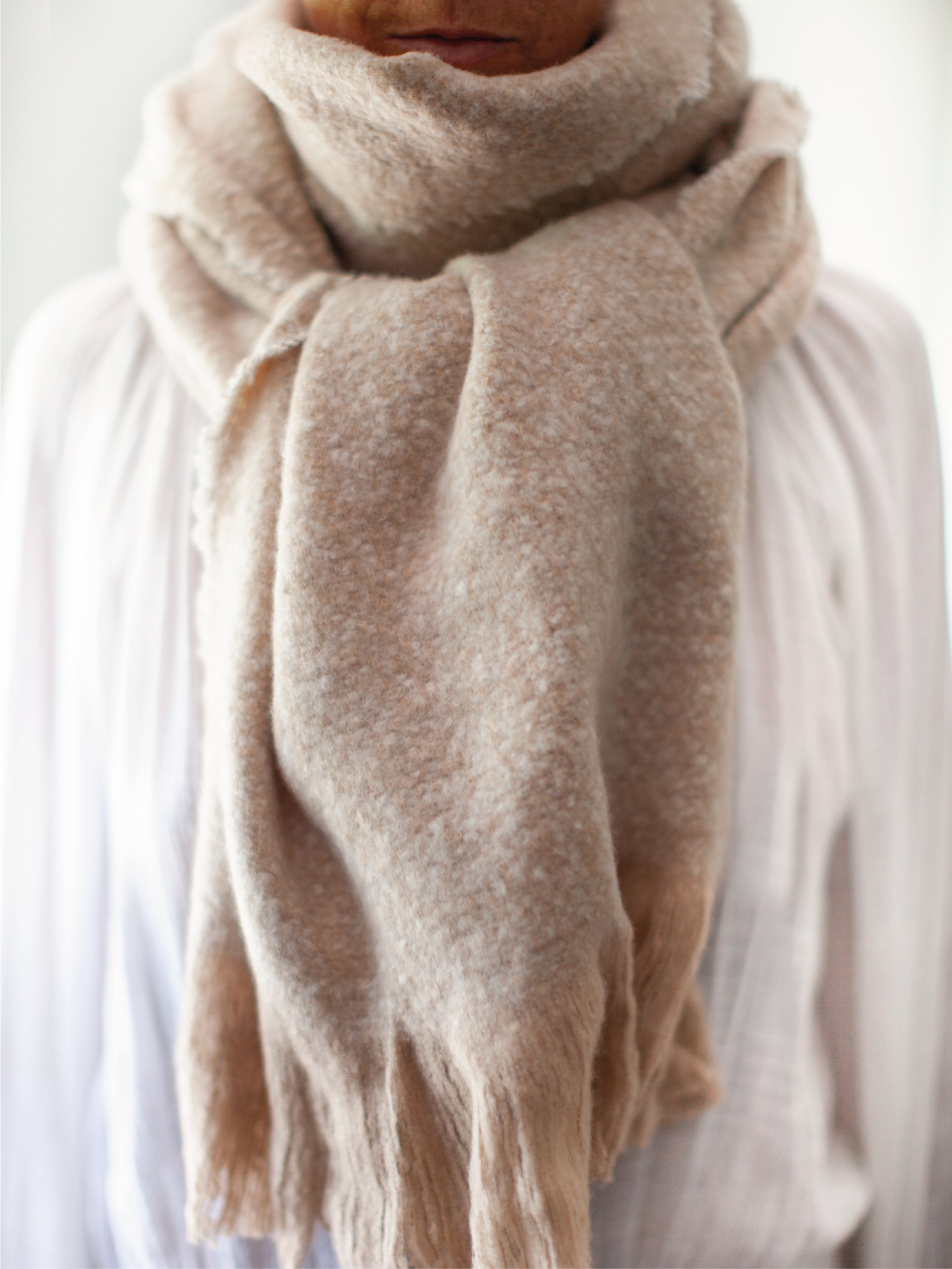 Soft Albi & Mac Blanket Scarf