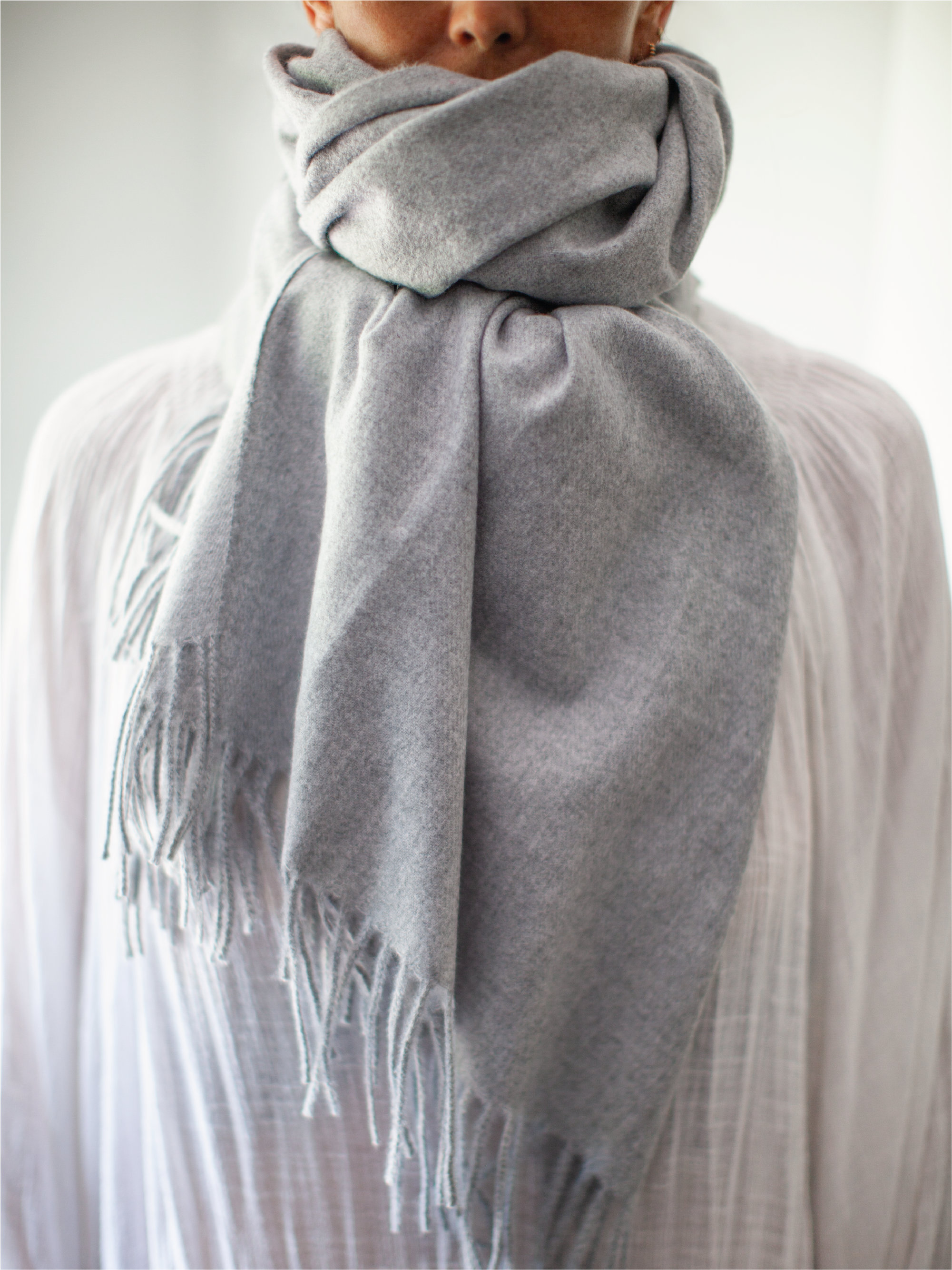 Soft Albi &Mac scarf which comes in a £50 gift box