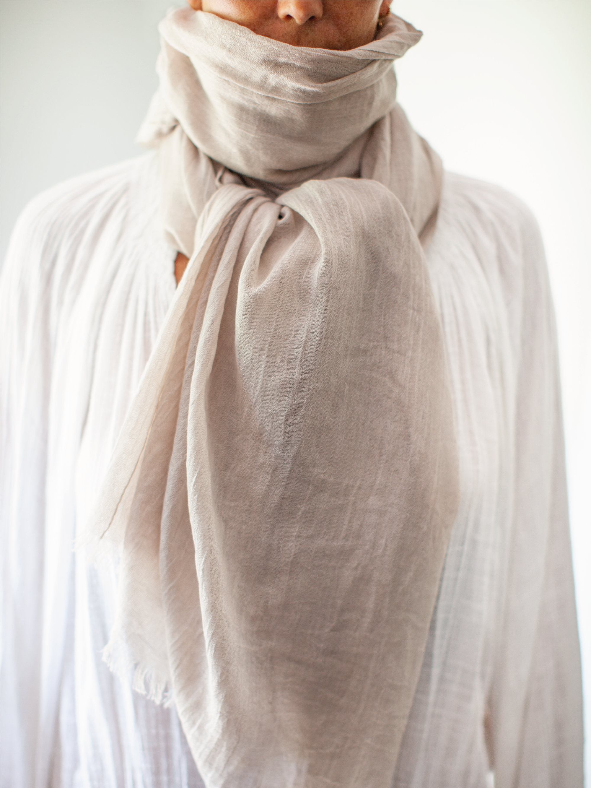 Soft blanket Albi &Mac  scarf which comes in a £50 gift box