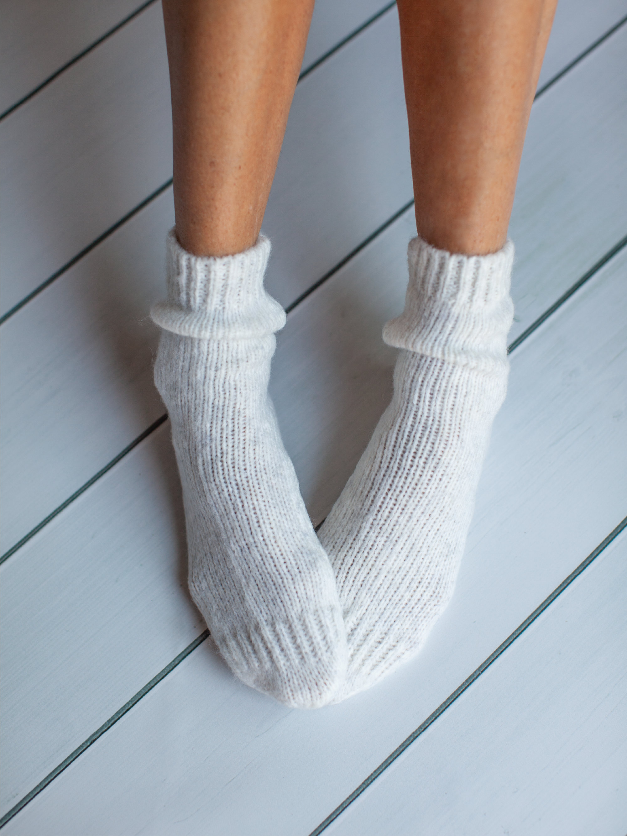 Soft Albi & Mac bed socks