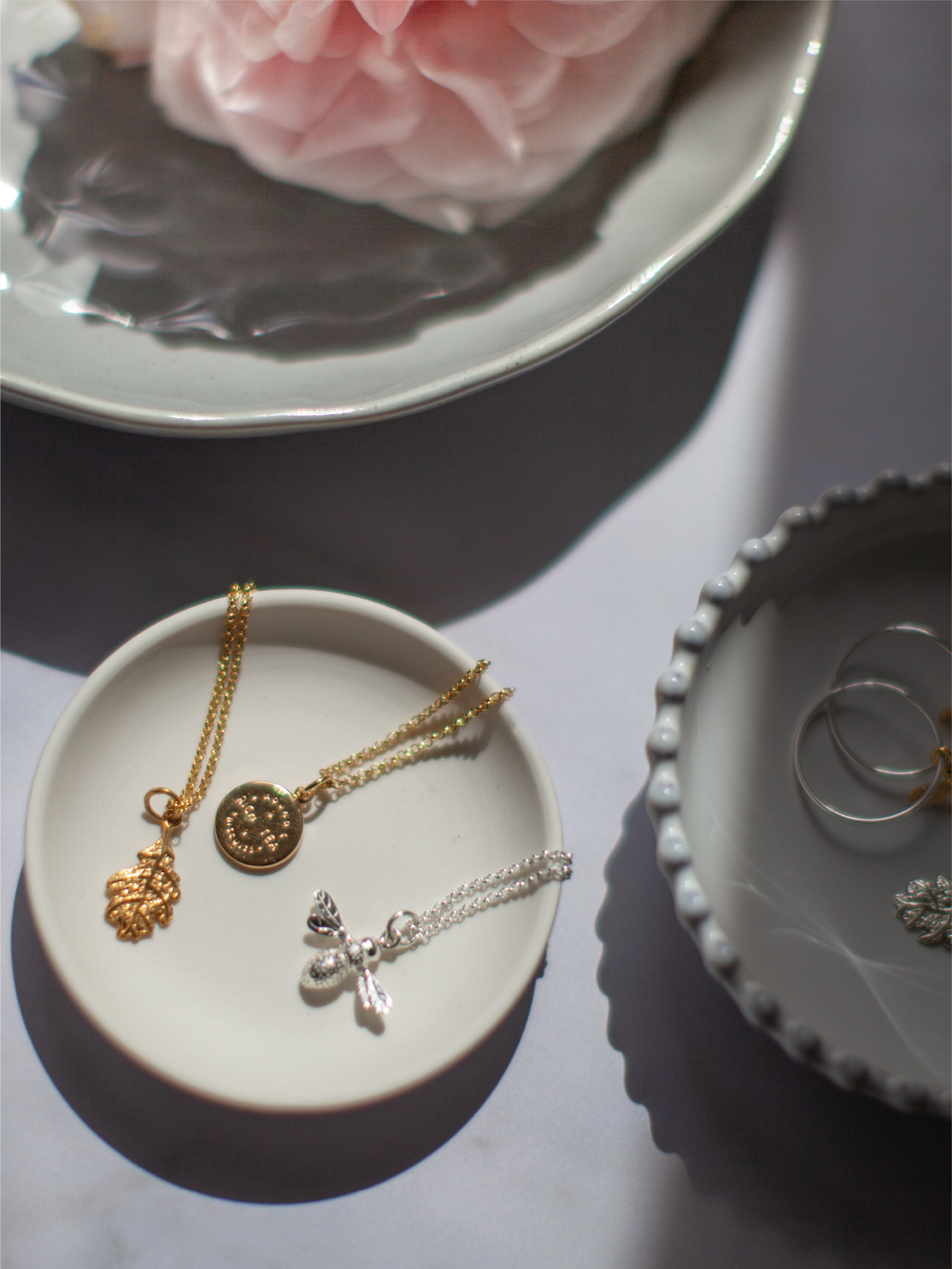 Sterling silver and gold plated jewellery