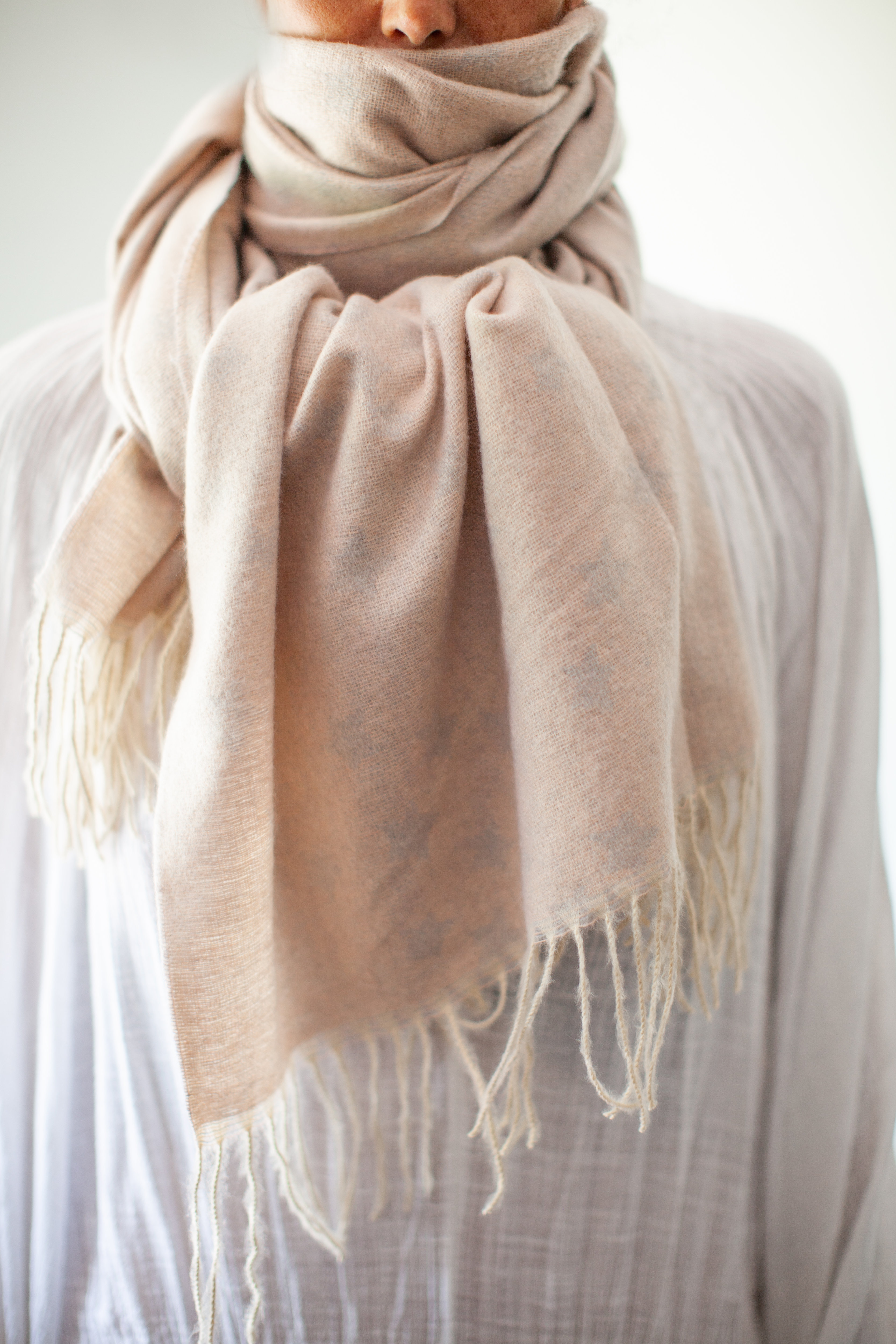 Soft Albi & Mac scarf which comes in a £65 gift box