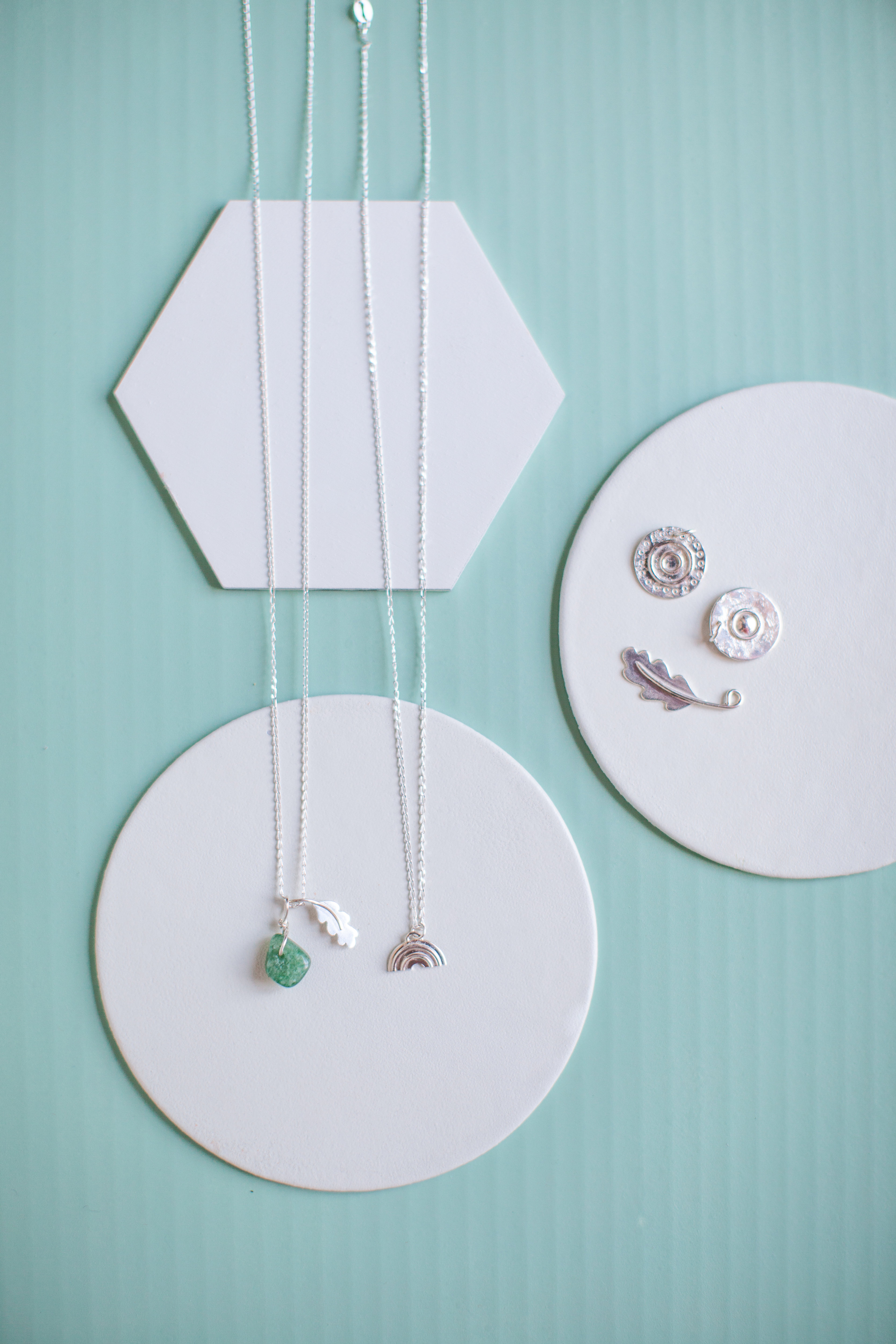Sterling Silver Necklace with a choice of charms