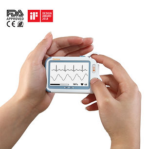 Checkme Pro vital signs monitor ekg moni
