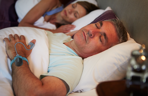 test the CPAP effectiveness, sleep apnea oxygen monitor, wrist pulse oximeter