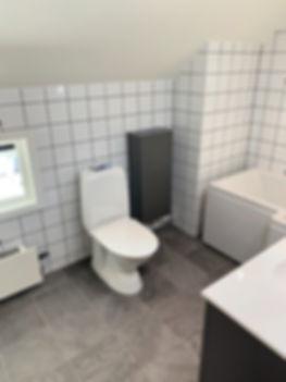 Toalett och badrumsförvaring