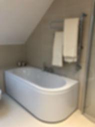 Badrum efter renovering, badrummet renoverades av Badrumsgruppen med totalentreprenad