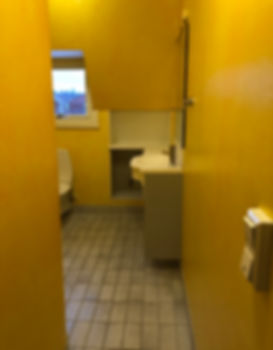 Badrummet i Enskede före renovering