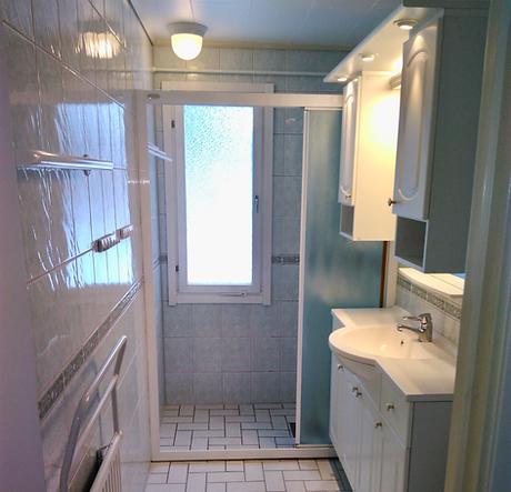 Badrum i Järfälla före renovering