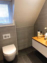 Badrum i Enskede efter renovering