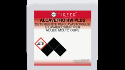 Alcavetro HW Plus - Detergente per lavastoviglie acque dure