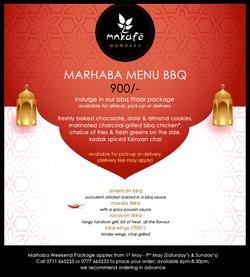 Marhaba Weekend BBQ