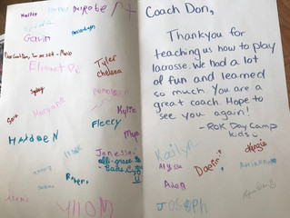Big thanks to the Rok Day Camp!
