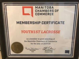 Youth1st Lacrosse meets Manitoba Chambers of Commerce