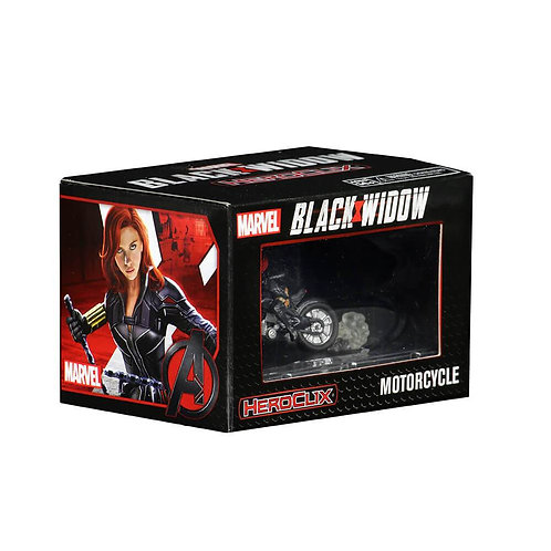 Marvel Heroclix Black Widow (on motorcycle)