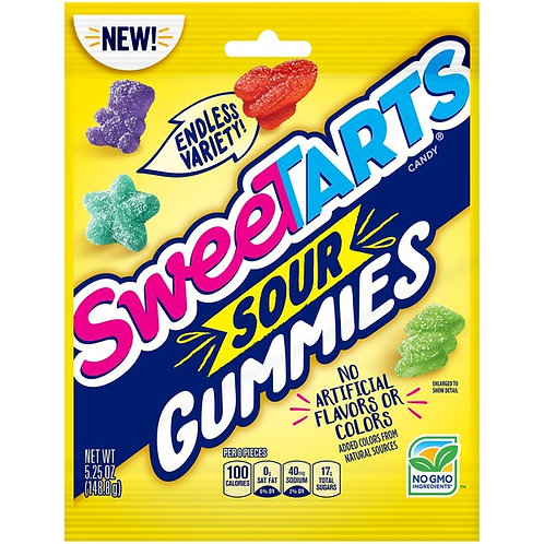 Bonbons: Sweet Tarts Sour Gummies