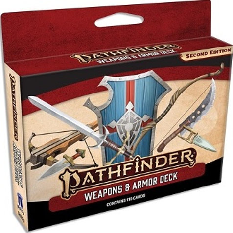 Pathfinder 2e - Weapons & Armor Deck