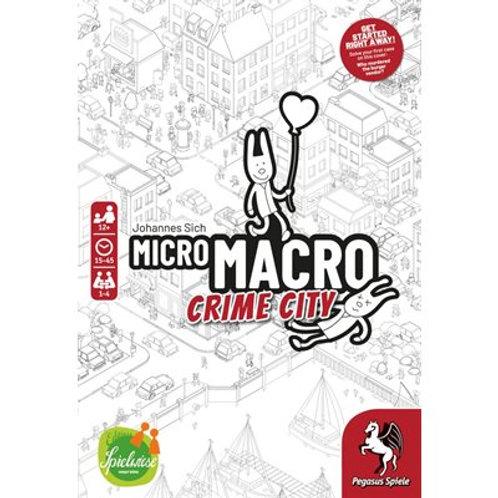 Micro Macro Crime City (ENG ou FR)