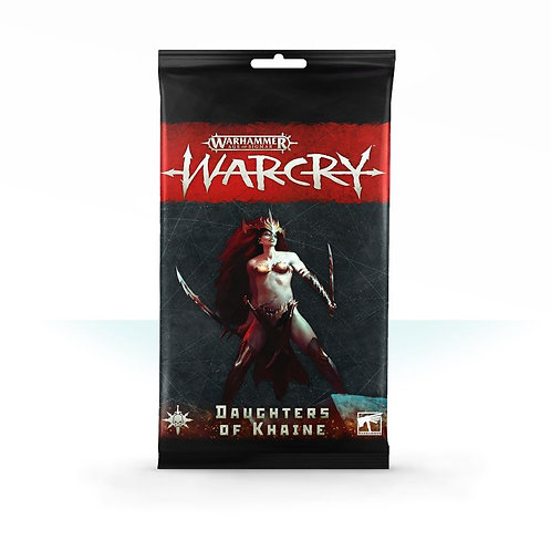 Warcry : Cartes de Daughters of Khaine