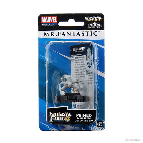Mr. Fantastic Heroclix Marvel Fantastic Four Deep Cuts