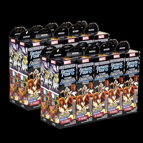 Marvel Heroclix FF Future Foundation - Caisse de 2 briques