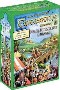 Carcassonne - ext. 8 Ponts, Forteresses & Bazars