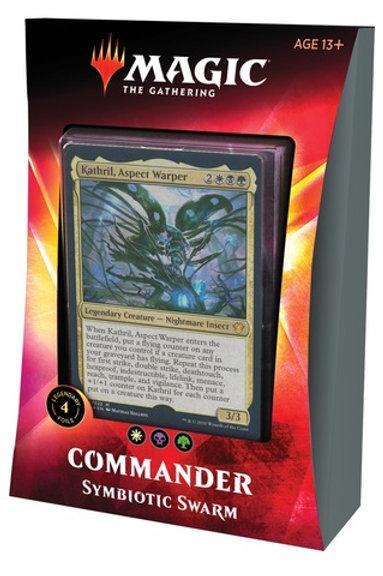MTG Commander Ikoria: Symbiotic Swarm (White-Black-Green)