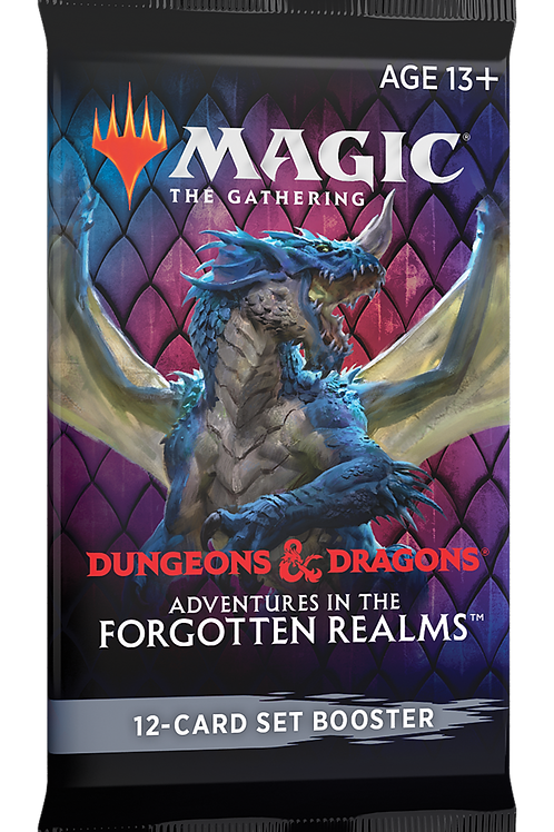 Adventures in the Forgotten Realms Set Booster - MTG