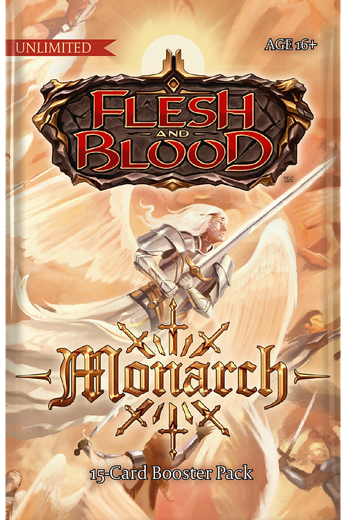 Flesh and Blood: Monarch Booster (Unlimited)