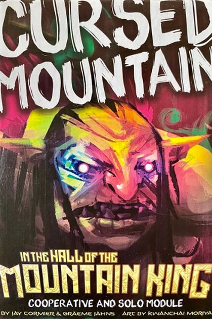 Cursed Mountain: In the Hall of the Mountain King Coop and Solo Module (ENG)