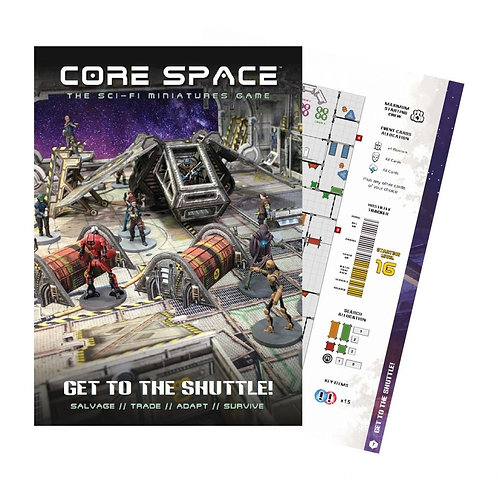 Get to the Shuttle! - Core Space - Battle Systems