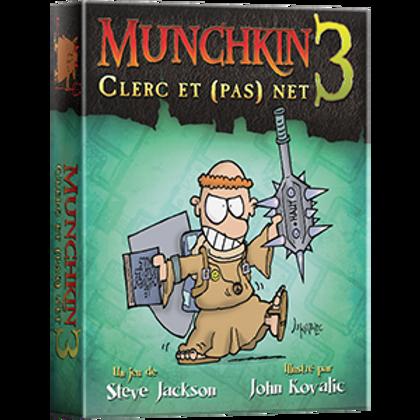 Munchkin 3 - Clerc et (pas) net (FR)