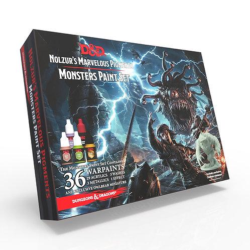 Monsters Paint Set - D&D Nolzur's Marvelous Pigments, The Army Pain