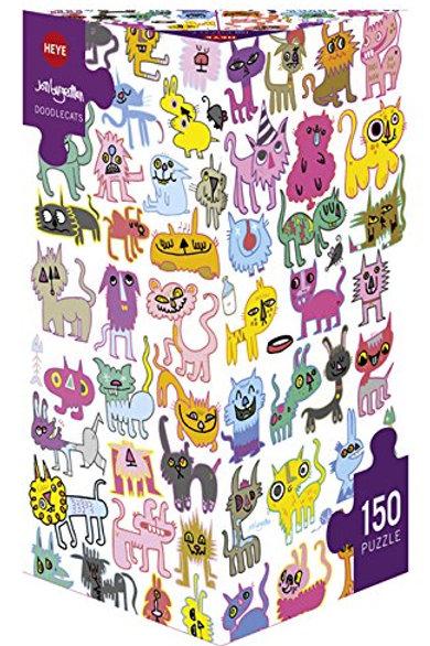 Art Lab Puzzle - Doodlecats 150 mcx