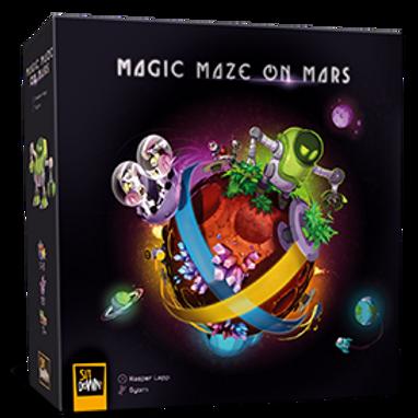 Magic Maze on Mars (multilingue)