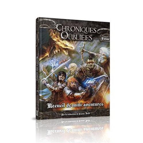 Recueil de mini-aventures pour Chroniques Oubliées Fantasy