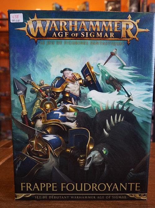 Warhammer Age of Sigmar - Frappe Foudroyante