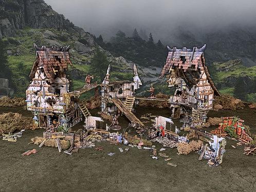 Village Ruins - Battle Systems