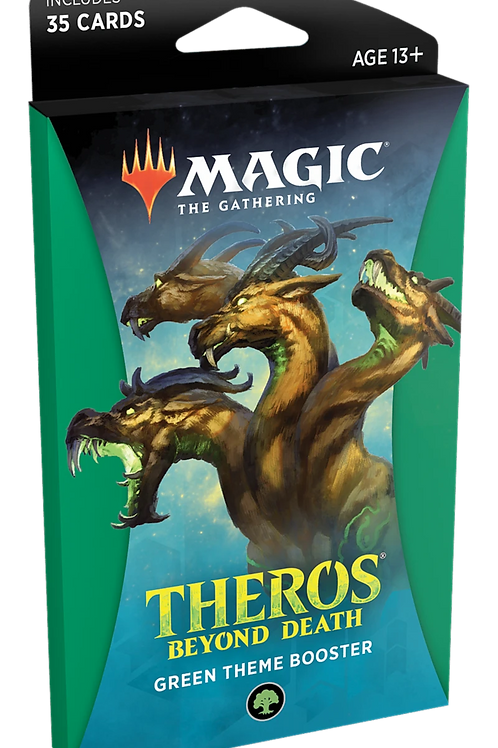 MTG Theros Beyond Death - Green Theme Booster